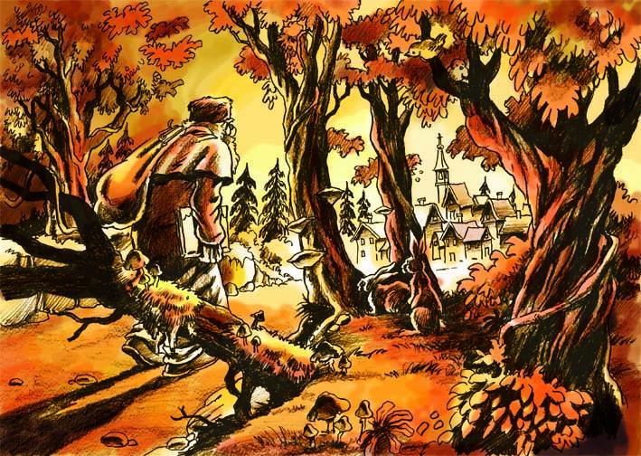 escena-abuelo-llegando-a-aldea-color
