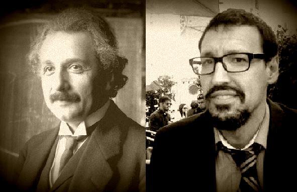Einstein y Daniel Jerez